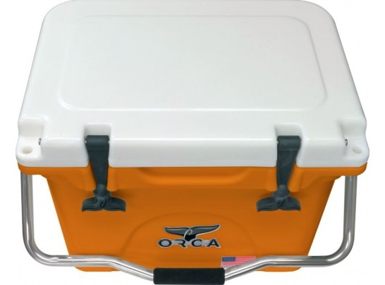 Orca 20qt Cooler Orange/White