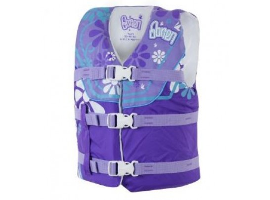 O'Brien Childs Nylon Life Vest - Purple
