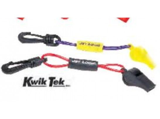 Safety Whistle with Floating Lanyard