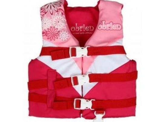 O'Brien Child's Nylon Life Vest - Pink
