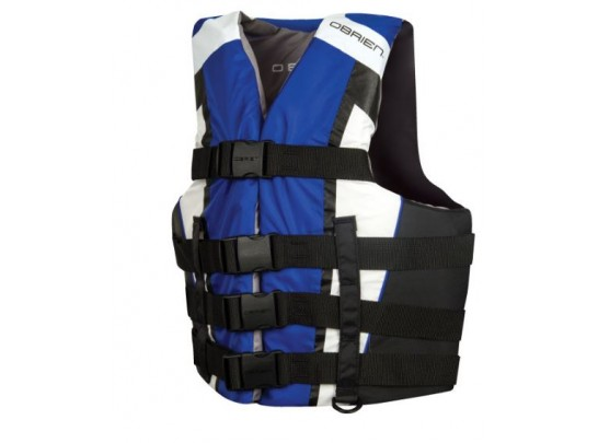 O'Brien Men's 4 Belt Adjustable Sprot Nylon Life Vest