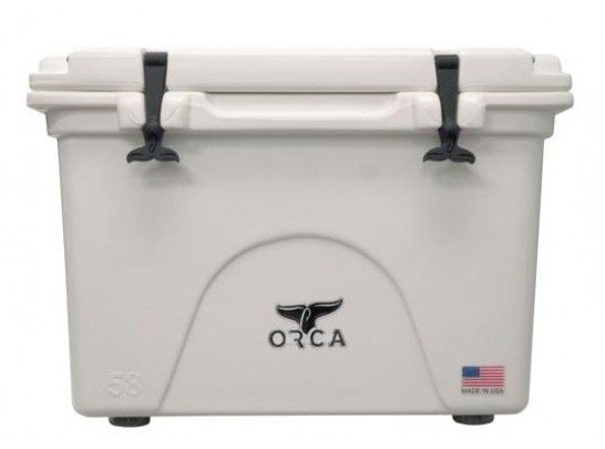 Orca 58qt Cooler- White