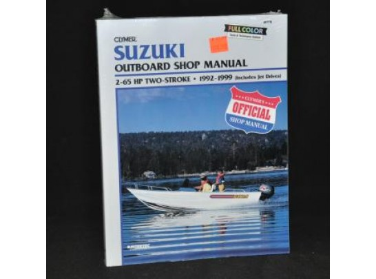 Suzuki Outboard Shop Manual 1992-1999 (Clymer PN B778)