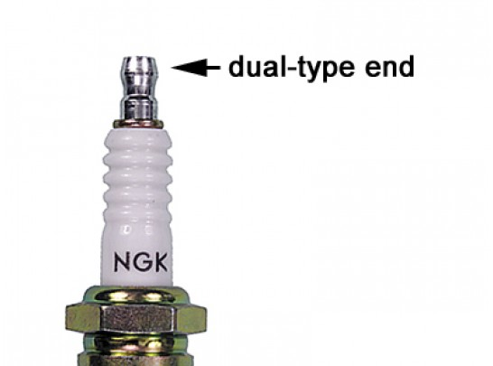NGK Spark Plug (NGK Stock Number 6422 PN BPR7HS)