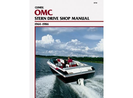 OMC Stern Drive Shop Manual 1964-1986 (Clymer B730)