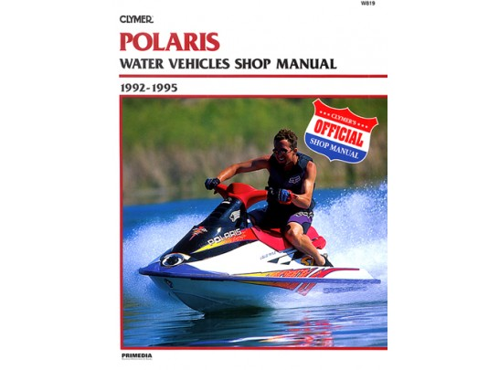 Polaris Water Vehicles Shop Manual 1992-1995 (Clymer W819)