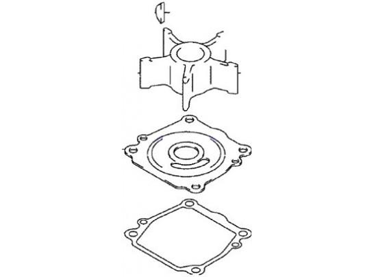 Johnson/Evinrude Outboard Water Pump Repair Kit (5033541)