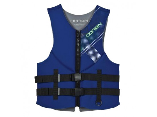 O'Brien Adult Men's Flex Clutch Neoprene Life Vest 2121765 - Blue