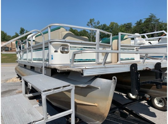 1999 Crest DL Pontoon 20'