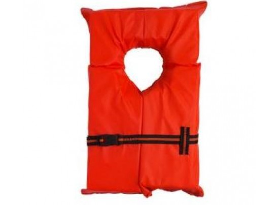 Child's Small Orange life vest