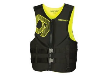 O'BRIEN ADULT MEN'S TRADITIONAL NEOPRENE LIFE VEST YELLOW