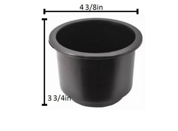 Standard Black Cup Holder Insert