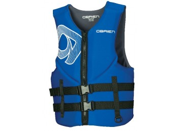 O'Brien Adult Men's Traditional Neoprene Life Vest- Blue