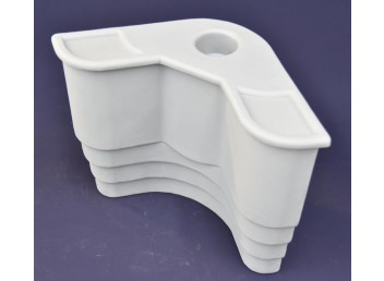 Corner Insert with Cup Holder