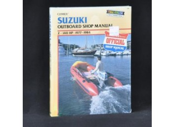 Suzuki Outboard Shop Manual 1977-1984 (Clymer PN B780)
