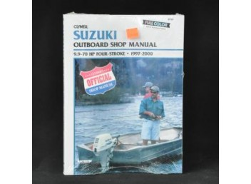 Suzuki Outboard Shop Manual 1997-2000 (Clymer PN B782)