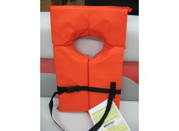 Orange Adult Life Vest