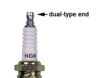NGK Spark Plug (Suzuki PN 09482-00427) NGK Stock Number 6962, PN BKR6E