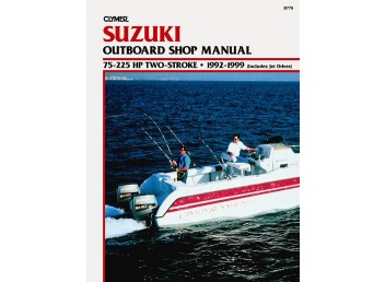 Suzuki Outboard Shop Manual 1992-1999 (Clymer PN B779)