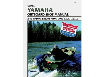 Yamaha Outboard Shop Manual 2-90HP 2-Stroke 1999-2000 (Clymer B786)