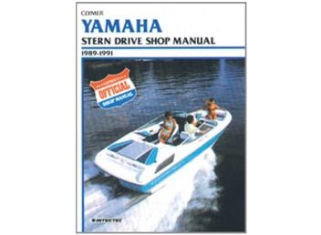 Yamaha Stern Drive Shop Manual 1989-1991 (Clymer B787)
