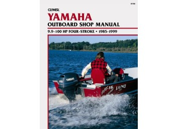 Yamaha Outboard Shop Manual 9.9-100HP 4-Stroke 1985-1999 (Clymer B788)