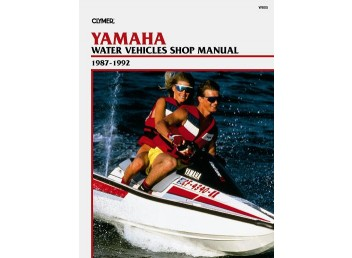 Yamaha Water Vehicle Shop Manual 1987-1992 (Clymer W805)