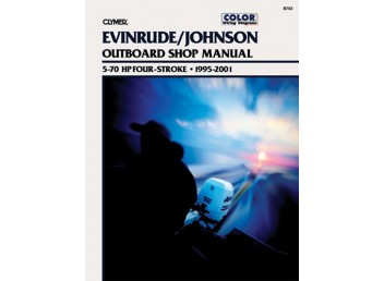 Evinrude/Johnson Outboard Shop Manual 5-70 HP 1995-2001 (Clymer B753)