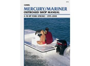 Mercury/Mariner Outboard Shop Manual 4-90 HP 1995-2000 (Clymer B710)