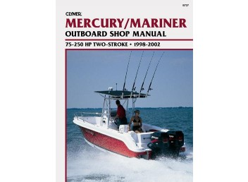 Mercury/Mariner Outboard Shop Manual 75-250 HP 1998-2002 (Clymer B727)