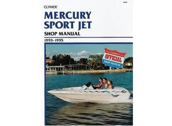 Mercury Sport Jet Shop Manual 1993-1995 (Clymer W815)