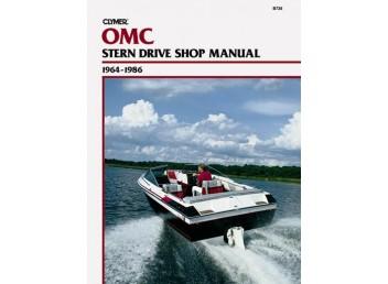 OMC Stern Drive Shop Manual 1964-1986 (Clymer B730)