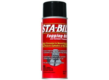STA-BIL Fogging Oil and Cylinder Protector 12 oz (PN 22001)
