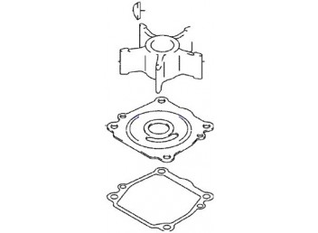 Johnson/Evinrude Outboard Water Pump Repair Kit (5033541)
