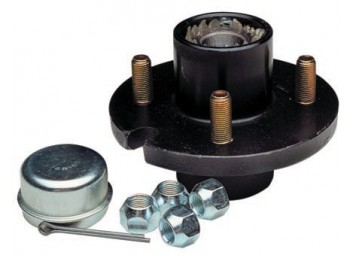 Replacement Wheel Hub Kit 5-Hole/Bolt 1-1/16 inch 1350# 81075