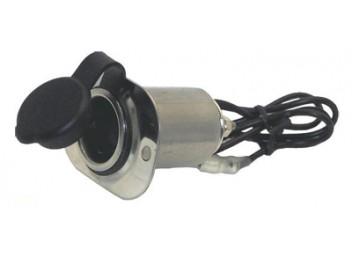 Boater Sports Stainless Steel 12V DC Power Socket 51421