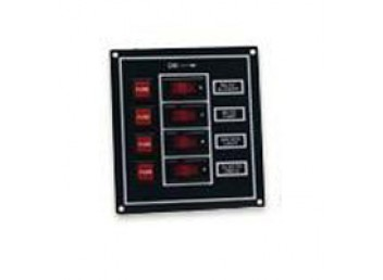 Boater Sports 4 Gang Boat 12V Fuse Panel 51400