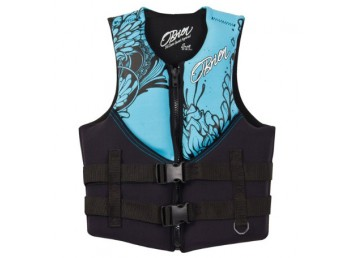 O'Brien Adult Women's Traditional Neoprene Life Vest - Teal