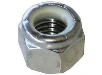 Stainless Locking nut with nylon insert