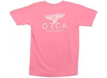 Orca Logo T-Shirt - Pink