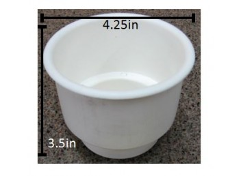 Standard White Cup Holder Insert