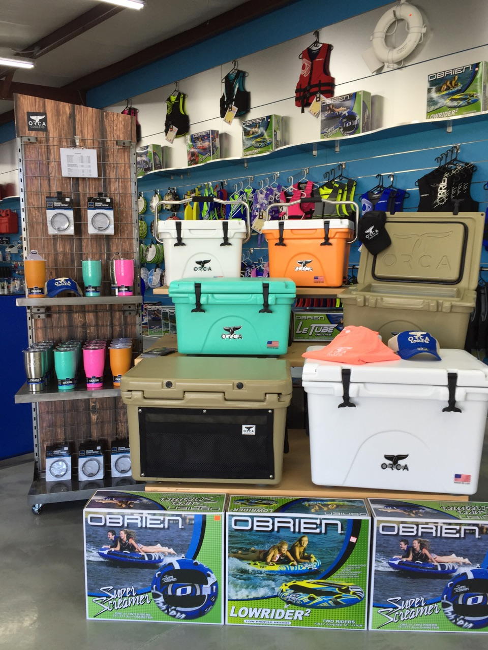 Orca Coolers and Accessories