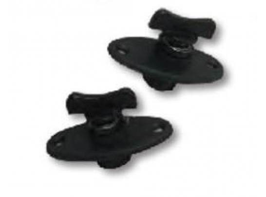 Windshield fasteners