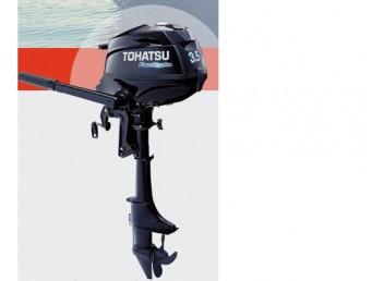 2016 3.5 Tohatsu 4 stroke motor