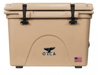 Orca 40qt Cooler - Tan