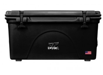 Orca 75qt Cooler - Black