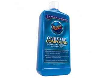 Meguiar's One Step Compound Aggressive Cleaner Plus Polish #67