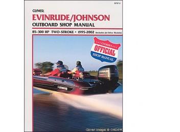 Evinrude/Johnson Outboard Shop Manual 85-300 1995-2002 (Clymer B737-2)