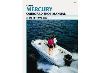 Mercury Outboard Shop Manual 3-275 HP 1990-1993 (Clymer B722)