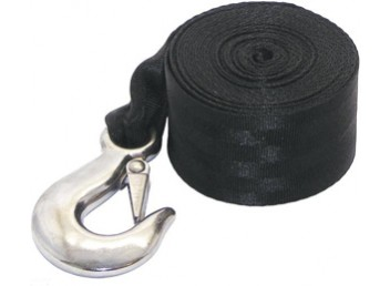 Boater Sports Trailer Winch Strap and Hook 2-inch x 15-ft PN 59816
